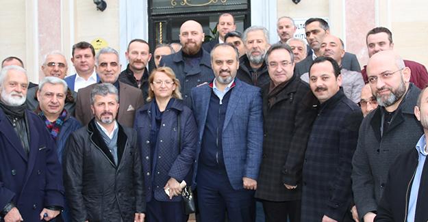 Başkan Alinur Aktaş Bursa'nın kentsel dönüşümünü masaya yatırdı!