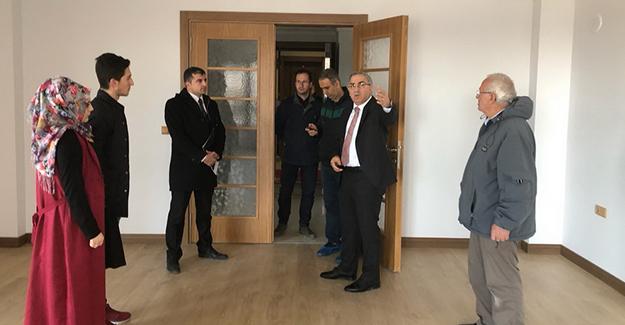 Başkan Turan, Ankara'da KuzeyKent projesi'nin örnek dairelerini inceledi!
