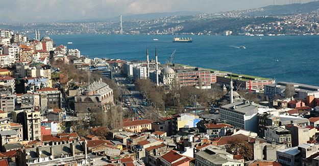 Beyoğlu daire fiyatları metrekare'de 4 bin 414 liraya ulaştı!