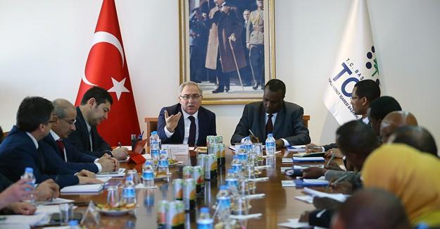 TOKİ tecrübelerini Etiyopya Kentsel Kalkınma ve Konut Bakanı Abay'a aktardı!