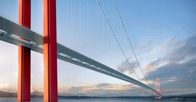 1915 Çanakkale Köprüsü 2023 yılında tamamlanacak!
