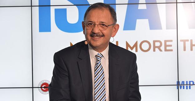 Bakan Mehmet Özhaseki MIPIM 2018 Fuarı'na katıldı!