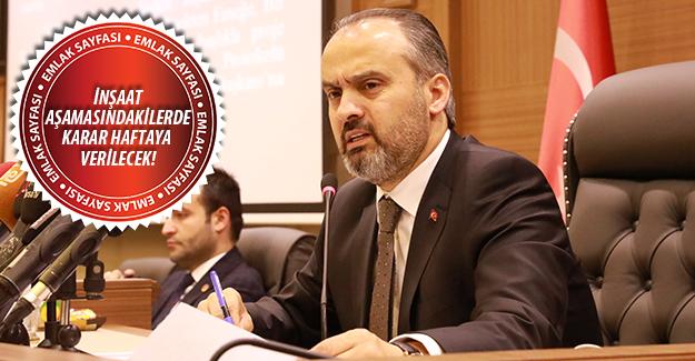 Bursa'da 56 yapının plan değişikliğine ret geldi!