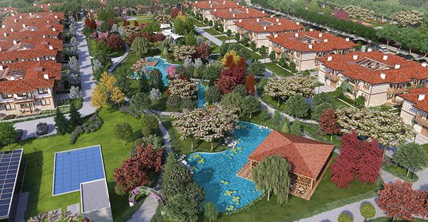 Emeklilere özel Herdem Sağlıklı Yaşam Köyü Silivri'de inşa ediliyor!
