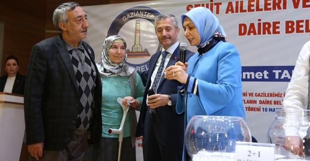 Şahinbey Şehit ve Gazi konutları kat kuraları çekildi!