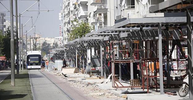 Antalya Ali Çetinkaya Caddesi projesi Haziran ayında tamamlanacak!