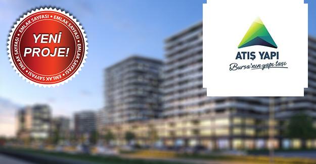 Atış Yapı'dan yeni proje; Bursa Downtown!