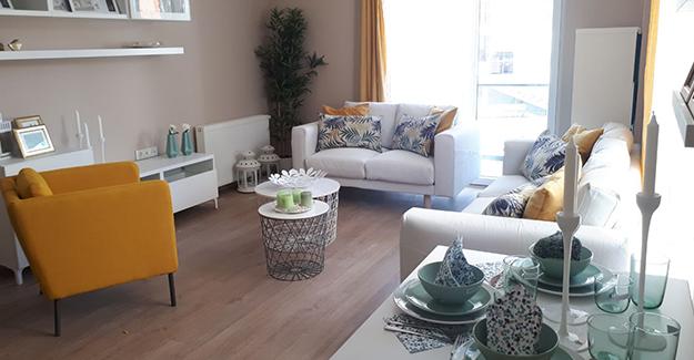 Beytepe Yalova projesinin örnek daireleri hazır!