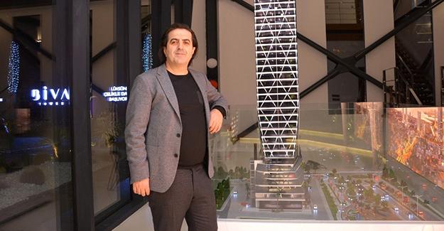 'Biva Tower Avrupa'nın en yüksek çelik binası olacak'!