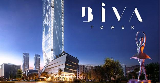 Biva Tower'da örnek daireler tanıtıldı!