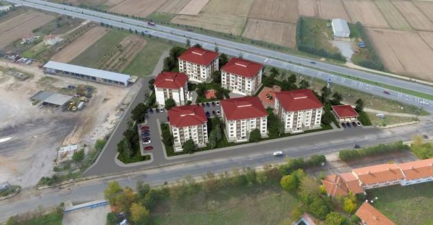 TOKİ Kırklareli Kavaklı'da 119 konut inşa edecek!