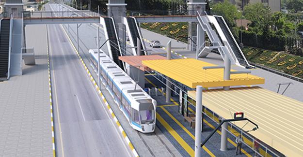 'Antalya 3. etap raylı sistem projesi başladı'!