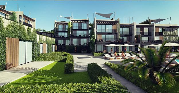 D Plaj Yalıkavak projesi örnek daire!