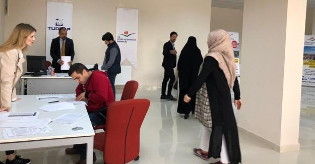 Soğanlı kentsel dönüşüm daireleri için Turyap ofisine 5 günde 200 kişi başvurdu!