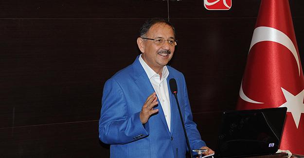 Bakan Özhaseki Adana'da İmar barışının detaylarını ve kentsel dönüşümü anlattı!