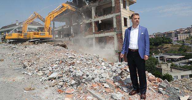 Gaziosmanpaşa Bağlarbaşı kentsel dönüşüm projesinde yüzde 80 yıkımlar tamamlandı!