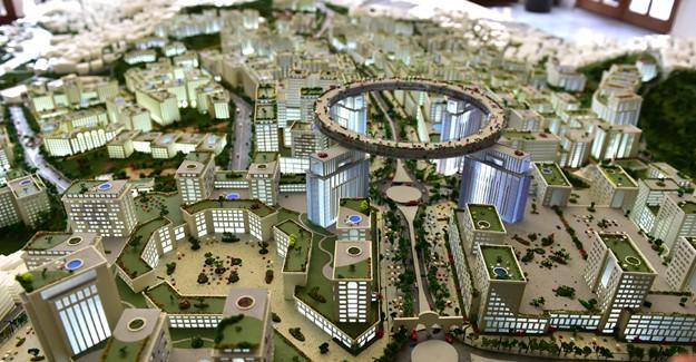 Okmeydanı kentsel dönüşüm projesi maketi!