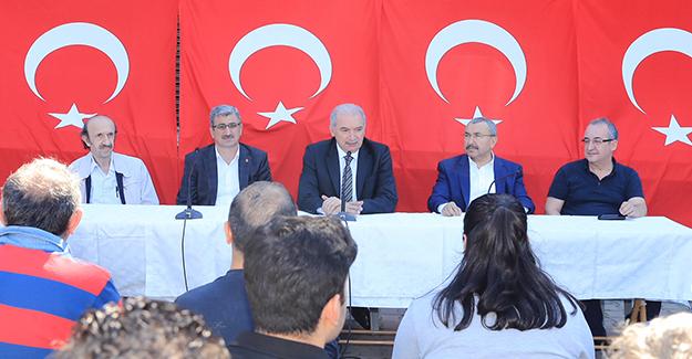 'Sancaktepe yüksek hızlı tren ve metro hattı projeleri ile daha da gelişecek'!