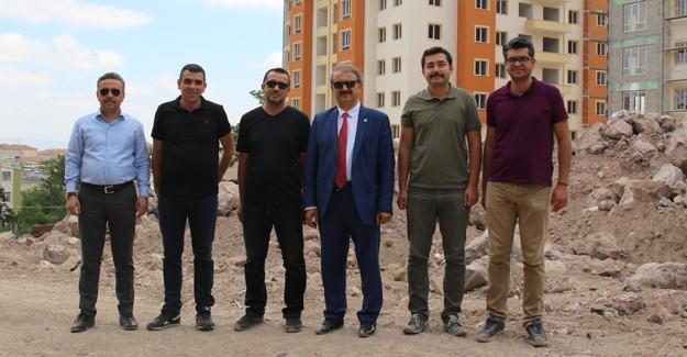 Hacılar kentsel dönüşümde 200 dairenin anahtar teslimi 1 Kasım'da yapılacak!