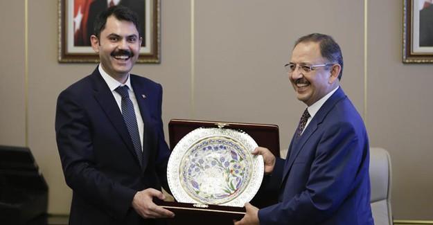 Murat Kurum, inşaat sektörü ve hükümet arasında önemli bir bağ olacak!