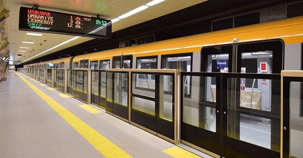 Üsküdar - Ümraniye - Çekmeköy metro hattı 9 gün kapalı kalacak!