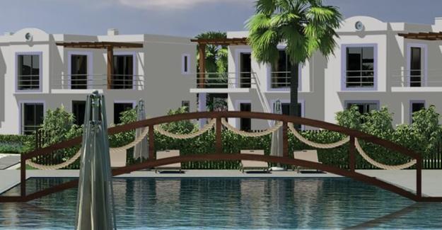 Muscari Park Resort Bodrum'da yükseliyor!