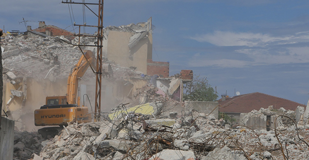 Trabzon Tabakhane kentsel dönüşüm projesinde yıkılan bina sayısı 653'e ulaştı!