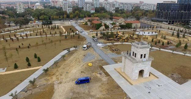 Ataköy Baruthane Millet Bahçesi 8 Kasım'da açılıyor!