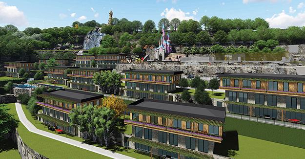 Colorist Panorama Şile örnek daire!