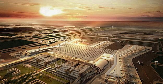 İstanbul Yeni Havalimanı harita!