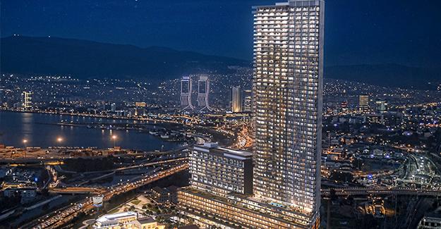 Mahall Bomonti İzmir'de 29 ve 39'ncu kat arası daireler satışta!