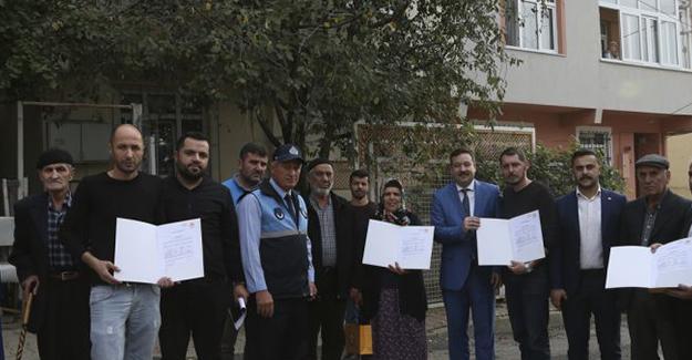 Sultanbeyli Belediyesi hisseli parsellerde ilk tebligatları teslim etti!