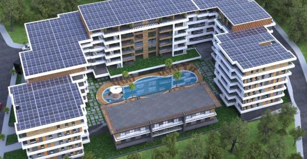 Terrace Yahya Kaptan örnek daire!