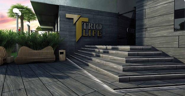 Trio Life Bornova örnek daire!