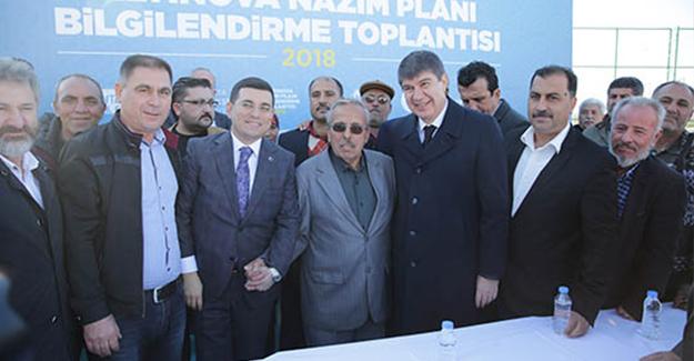 Altınova'daki toptan ticari alanların fonksiyonu ve emsali değişiyor!