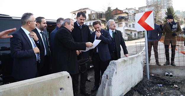 Bakan Murat Kurum, Rize Yağlıtaş kentsel dönüşüm rezerv alanını inceledi!