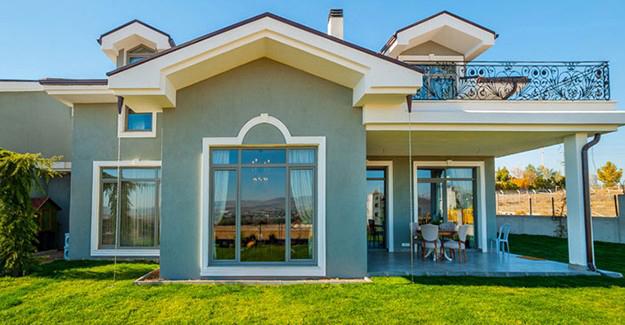 Kuğu Gölü Villaları örnek daire!