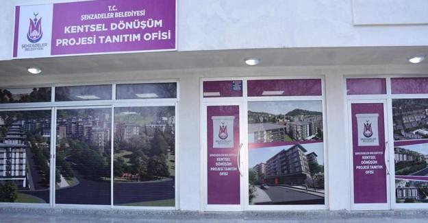 Manisa Şehzadeler kentsel dönüşüm ofisi açıldı!