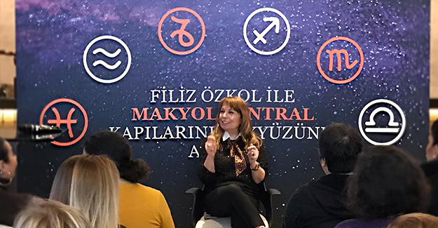 2019 yılında burçların hayatımıza neler getireceği Makyol Santral tanıtım ofisinde konuşuldu!