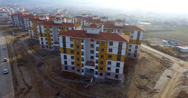 Kırşehir Bağbaşı Mahallesi kentsel dönüşüm projesi 3. etapta sona gelindi!
