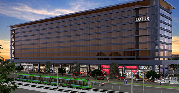 Lotus İş merkezi Bursa ofis fiyatları!