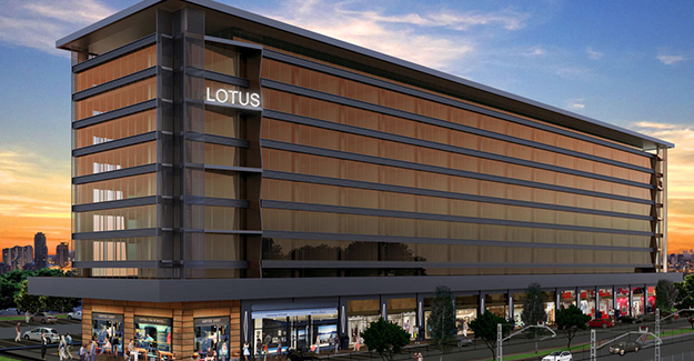 Lotus Office Bursa kat planları!