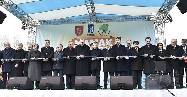 Ankara'nın ilk millet bahçesi açıldı!