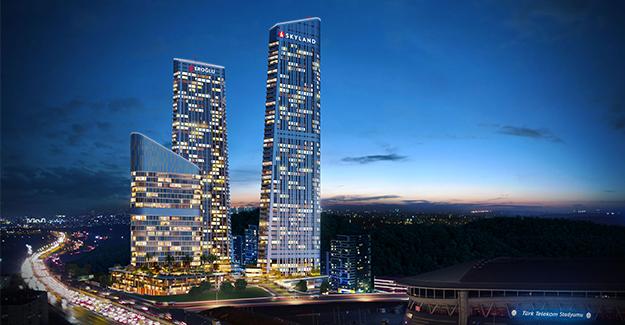 Skyland İstanbul'da rezidansların taksitleri 4 bin 900 TL'den başlıyor!