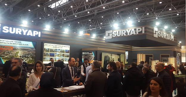 Sur Yapı, Evim Türkiye Fuarı'nda 250 milyon liralık satış görüşmesi yaptı!