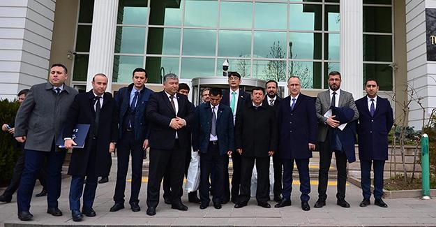 TOKİ modeli Özbekistan heyetine anlatıldı!