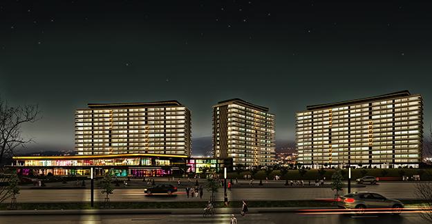 38. Cadde Kayseri projesi Melikgazi'de yükseliyor!