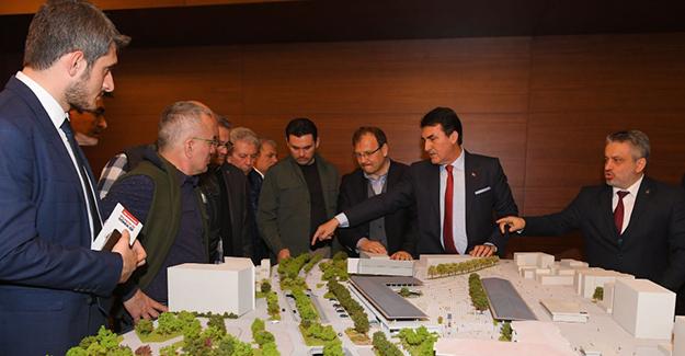 Osmangazi Meydan Projesi Bursa kamuoyuna tanıtıldı!