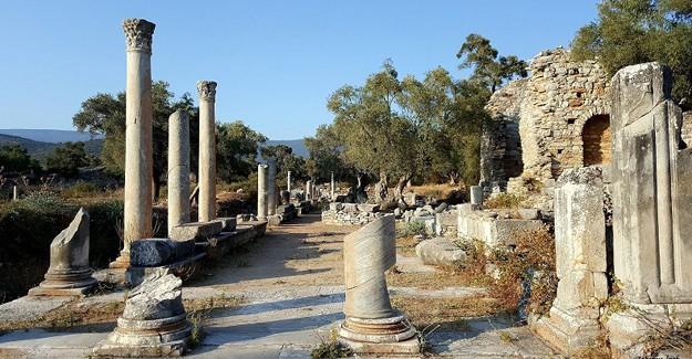 3.derece arkeolojik sit alanına inşaat yapmak!