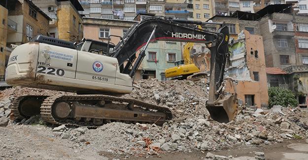 Çömlekçi kentsel dönüşüm 2. etap yıkımları yeniden başladı!